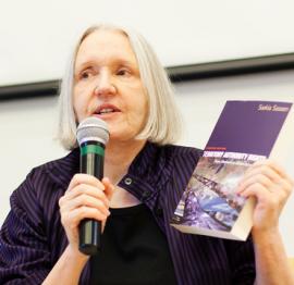 Professor Saskia Sassen | NEF GG 2018 Speakers